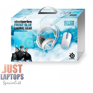 STEELSERIES Frost Blue Bundle - Mouse, Headset and Mouse Pad