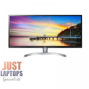 "LG 34WK650-W 34"" 21:9 UltraWide Full HD IPS Monitor 2560x1080 HDR10 Speakers"