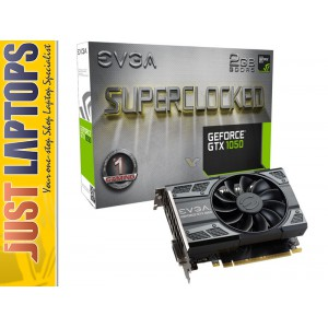 EVGA GeForce GTX1050 2G SC Video Card , HDMI +DVI+ Display Port 3Yrs Warranty