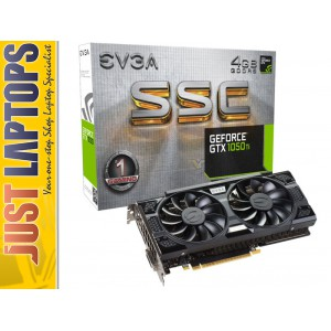 EVGA GeForce GTX1050TI 4G SSC ACX 3.0 Gaming Video Card , DVI+HDMI+Display Port