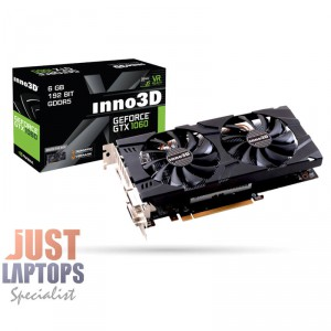 INNO3D NVIDIA GEFORCE GTX 1060 6GB DUAL Gaming Graphics Card