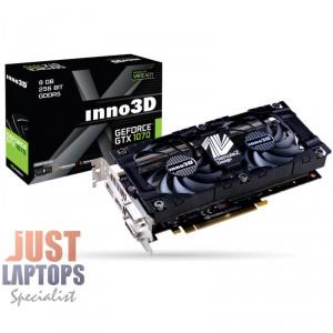 INNO3D GEFORCE GTX 1070 HERCULEZ TWIN 8GB GDDR5 Dual Fan Gaming Graphics Card