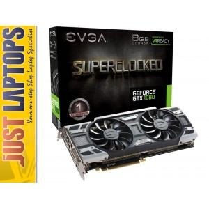 EVGA GeForce GTX1080 Gaming Video card with ACX 3.0 Cooling