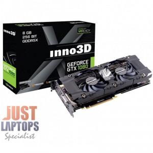 INNO3D GEFORCE GTX 1080 HERCULEZ TWIN 8GB GDDR5X Dual Fan Gaming Graphics Card