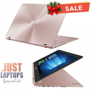 ASUS ZENBOOK UX360 13.3 FLIP TOUCH FHD IPS I5-7200U 8GB 256GB SSD ROSE GOLD