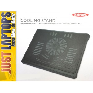 Ednet Notebook Cooling Stand - large fan 17.3""