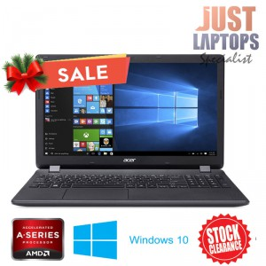 Acer Aspire ES1-523 15.6 Inch A4-7210 1.80Ghz 4GB RAM 1TB HDD Radeon R3 WIN 10