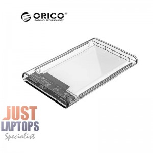 "ORICO USB3.0 TRANSPARENT ENCLOSURE - 2.5"" For Notebook HDD/SSD"