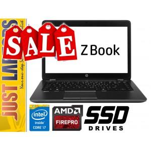 HP Zbook 14 i7 8GB 180GB SSD FirePro M4100 Win7Pro