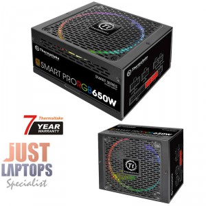 ThermalTake Smart Pro RGB 650W 80 Plus Fully Modular Power Supply For PC