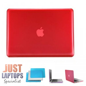"Hardshell Case for Macbook Pro 13"" A1278 - Red"