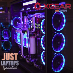 XGEAR GAMING PC - I9 9900K 32GB DDR4-4000 NV-LINK RTX2080TI Graphics Hard Tubing