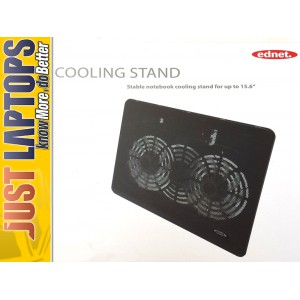 Ednet Notebook Cooling Stand - Double fan 15.6""