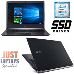 Acer Aspire S13 S5-371 Premium Ultrabook I5-6200U 8GB 256GB SSD FHD IPS Display