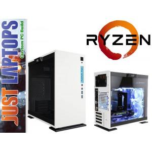 Gaming PC - InWin 301 - Ryzen 5 8GB DDR4-2666Mhz 128GSSD+1TB GTX1060WF 6GB GDDR5