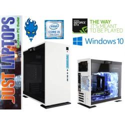 Gaming PC - InWin 301 - I5-7400 8GB DDR4-2666Mhz 128GSSD+1TB GTX1060WF 6GB GDDR5
