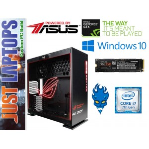 Gaming PC - InWin 303-ROG - I7-7700K 16GB DDR4-2666Mhz Samsung 960 EVO GTX1080