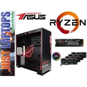 Gaming PC - InWin 303-ROG - Ryzen 7 16GB DDR4-2666Mhz Samsung 960 EVO GTX1080