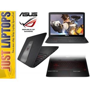 ASUS ROG GL552 i7-6700HQ 16GB DDR4 120GB SSD + 1TB FHD IPS GTX960M Backlit KB