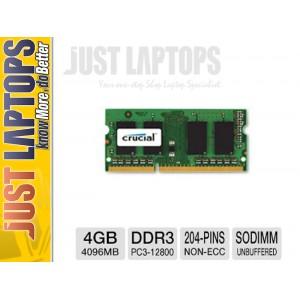 Crucial High Quality Single 4GB DDR3 1600MhzMemory