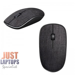 Rapoo 3510 Wireless Optical Mouse - Black Soft Fabric Cover
