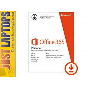 Microsoft Office 365 Personal for 1 PC or Mac Eng