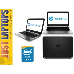 HP Probook 430 G1 13.3 Inch I5-4200 8GB Ram 500G HDD Premium Build Quality 1.5kg
