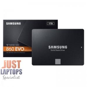 Samsung 860 EVO MZ-76E1T0BW 1TB SSD , Samsung V-NAND, R/W(Max) 550MB/s/520MB/s