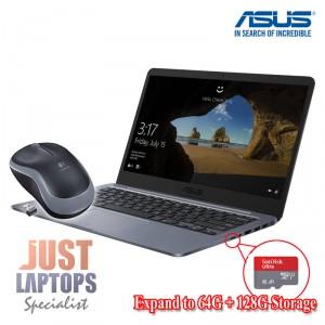 Student Laptop ASUS Vivobook E406SA Grey 14 Intel 4GB 192G total Storage W10