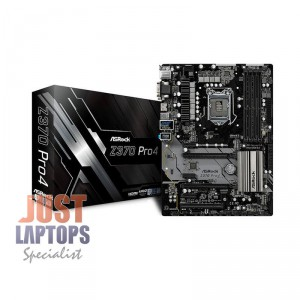 ASRock Z370 Pro4 ATX Motherboard, Intel Z370 Chipset for 8th Gen Coffee Lake CPU
