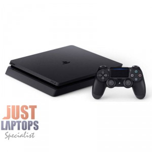 PS4 Slim 500GB Console Black - Discounted Game Bundle & Upgrades Available