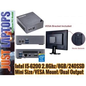 Next Gen Office PC - I5-6200 8GB 240GB SSD WIN7Pro