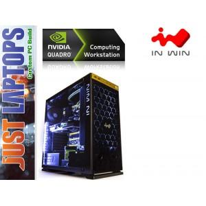 CAD Workstation - I7-7700 16GB DDR4-2666Mhz 250GB NVMe SSD+2TB HDD Quadro P1000