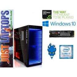 Gaming PC - InWin 805 Infinity I7-7700K 16GB 500GB NVMe SSD+2T GTX1080Ti 11GB