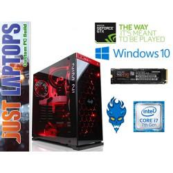 Gaming PC - InWin 805 - Ryzen 5 16GB DDR4-2666Mhz 256GB 960 EVO PCIE SSD GTX1080