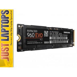Samsung 960 Evo 500GB M.2 (2280),NVMe SSD, R/W(Max) 3,200MB/s/1800MB/s