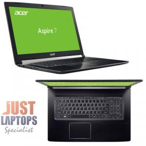 """Acer Aspire A717 17.3"""" FHD Core i7-8750H 16GB 128GB SSD + 1TB HDD GTX1060 6GB"""