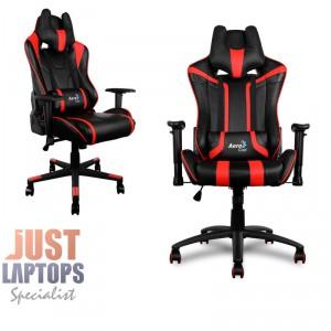 AEROCOOL AC120-BLACK-RED Race-Cushion-V1 Premium Gaming Chair
