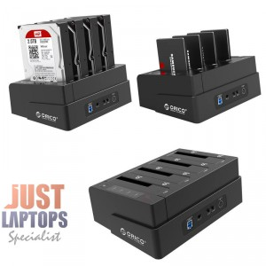 ORICO 2.5 AND 3.5 inch SATA2.0 USB3.0 1 to 3 Clone External Hard Drive Dock