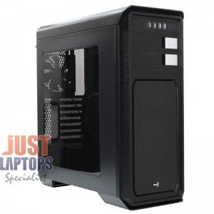 AEROCOOL AERO 800 MID TOWER CHASSIS WINDOWED BLACK