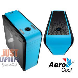 Aerocool DS200 Premium Gaming Chassis - BLUE
