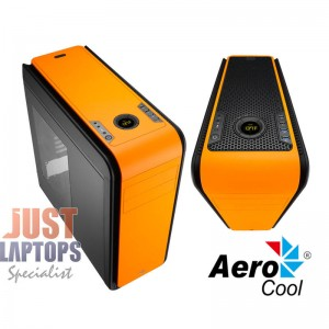 Aerocool DS200 Premium Gaming Chassis - ORANGE