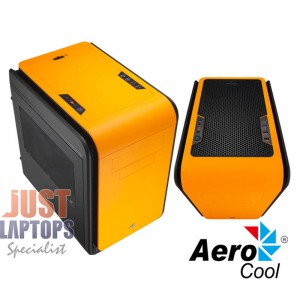 Aerocool DS Cube Mini Gaming Chassis - HOT ORANGE