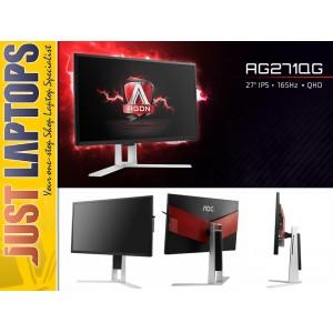 AOC AGON High-End Gaming Monitor QHD 2560x1440 27 Inch 165Hz NVIDIA G-Sync