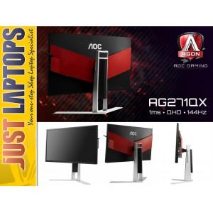 AOC AGON Series Gaming Monitor 27 Inch 2560x1440 QHD 144Hz Free-Sync 1ms
