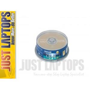 Maxell Inkjet Printable CD-R 25 discs 700mb 1X-52X