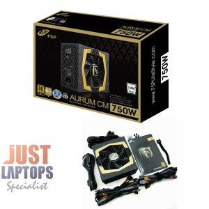 FSP AURUM CM 750W 80PLUS Gold Certified Semi-Modular ATX MEPS Compliant PSU