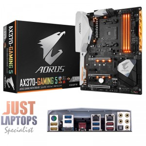 Gigabyte Aorus GA-AX370-GAMING5 AMD Socket AM4 ATX Motherboard