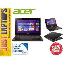 "Acer TravelMate B115 11.6"" Portable Notebook Intel N2940 Quad Core 4GB 500GB HDD"