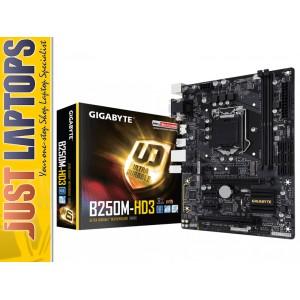 Gigabyte GA-B250M-HD3, For Intel Kaby Lake LGA1151 (Also Works For Skylake CPU)
